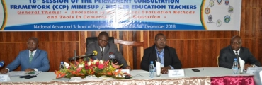 18th session of the Permanent Consultation Framework (CCP) MINESUP / Higher Education Teachers
